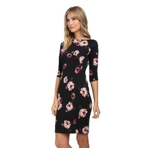 NWT Donna Morgan Floral Scuba Sheath Dress